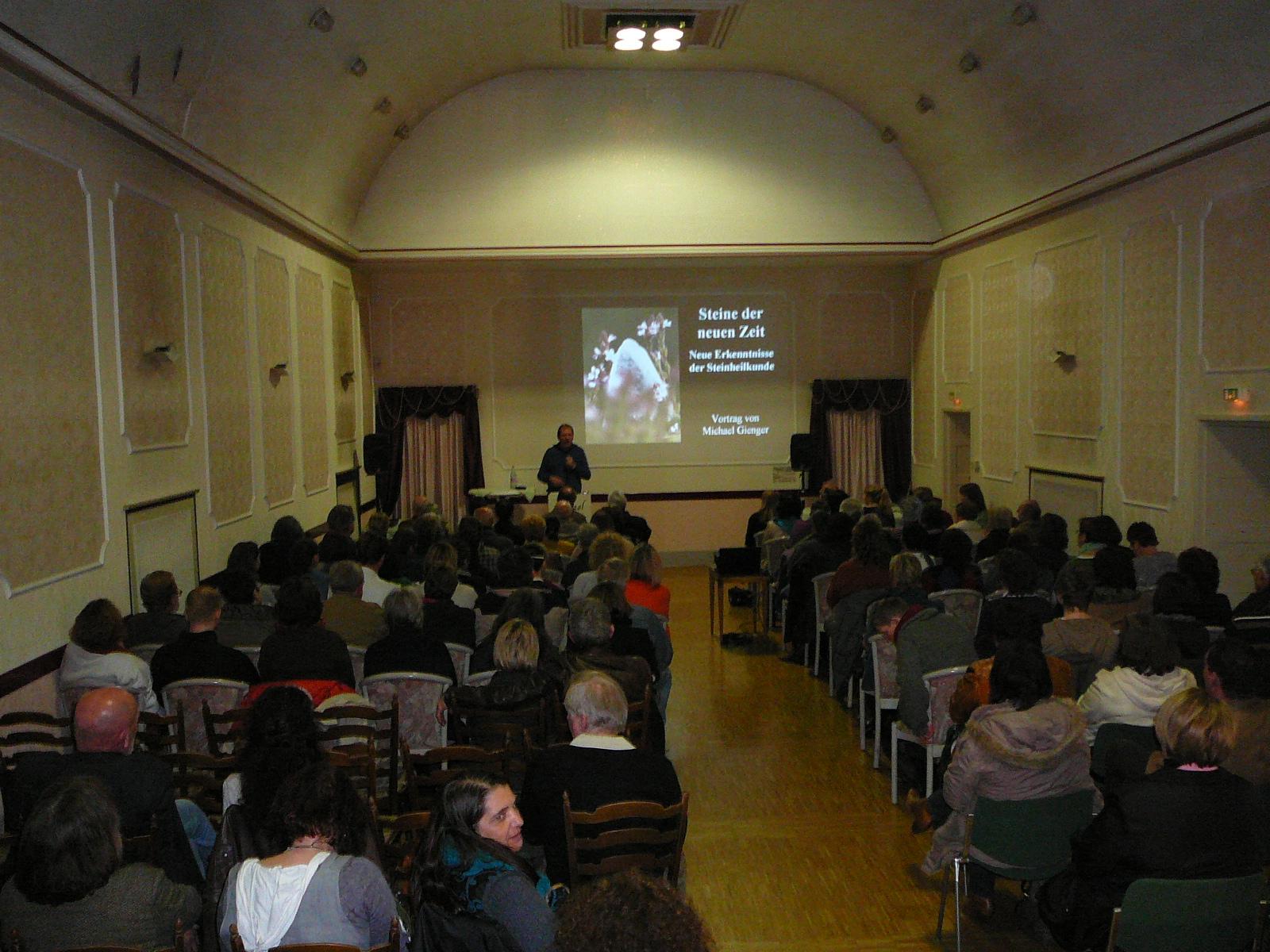 Vortrag Steinheilkunde MIchael Gienger 2012