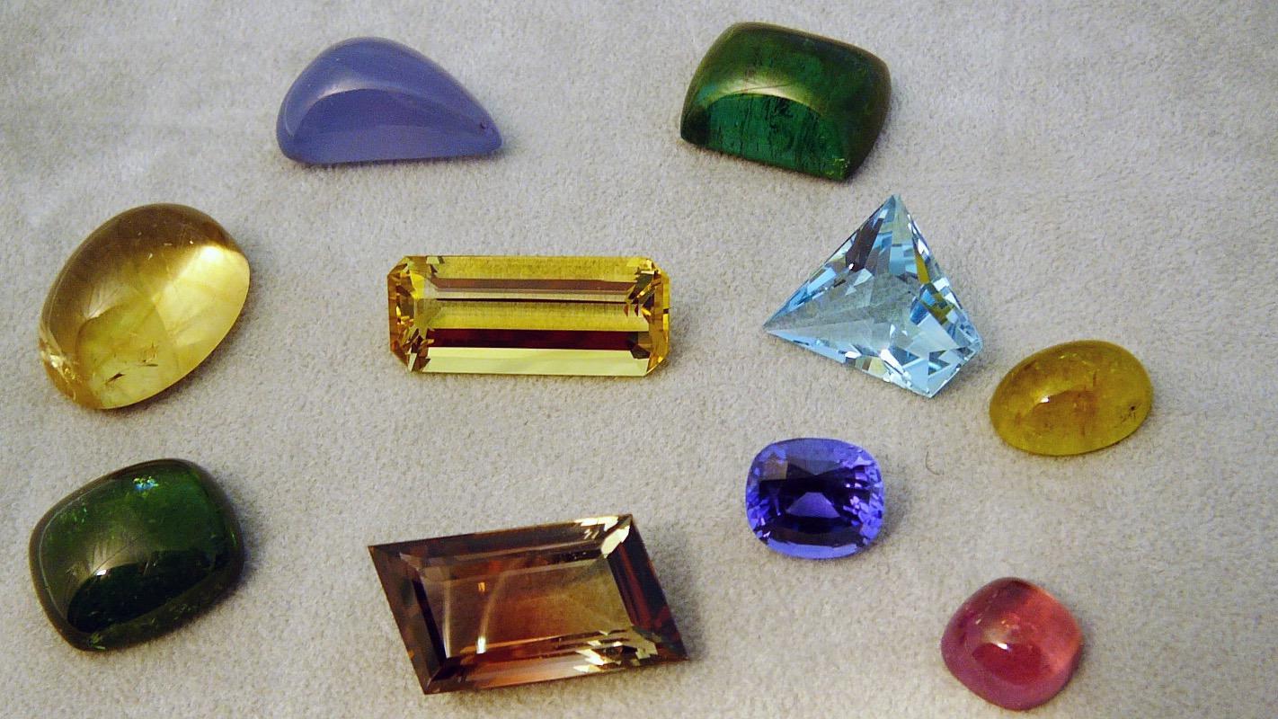 Schmuckedelsteine für Goldschmiede